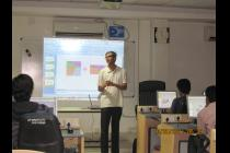 Workshop on Solidworks conducted by IEEE IITBBS Student Branch
