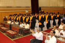Director charges the B. Tech. degree recipients