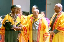 2nd Annual Convocation 2013 in the august presence of the President of India, Shri Pranab Mukherjee