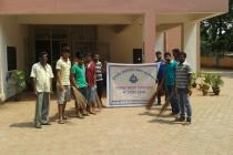 """Swachh Bharat Mission"" activities at DR.A.N.Khosla Hostel on 2nd Oct, 2014."