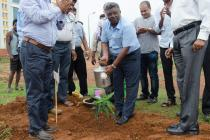 Theme based Plantation jointly by IIT and CHES Bhubaneswar