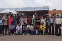 Industrial Visit to Paradeep Phosphate Ltd by 2nd Year B. Tech (Mech)