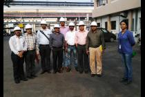 Visit of faculty members to NALCO as part of Industry-Academia Collaboration