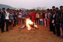 Campfire at Argul Campus