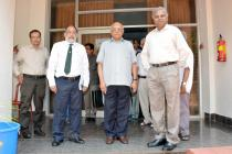 """""""Padma Vibhushan"""" Dr. R. Chidambaram, Principal Scientific Adviser to the Govt. of India & Chairman, Scientific Advisory Committee to the Union Cabinet visited IIT BBSR on 12.05.2016 and addressed Faculty, Students and Staff on Knowledge Economy."""