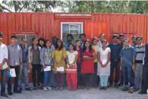 visit by the 1st year students of M.Sc. (Atmosphere & Ocean Sciences) and M.Tech. (Climate Science & Technology) to Indian National Centre for Ocean Information Services (ESSO-MoES)