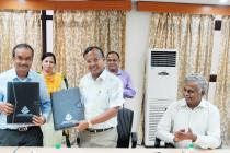 Agreement Signing Ceremony with Integrated Test Range, DRDO, Chandipur on 4th August 2016