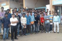 Industrial Visit of Second Year Mechanical Students at Paradeep Phosphate on 28 Oct 2016