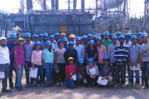 Industrial visit of Electical Engg. students to OPTCL Power Training Centre, Bhubaneswar