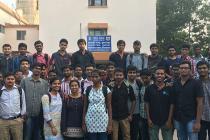 Industrial visit of Electical Engg. students to Doordarshan Kendra, Bhubaneswar