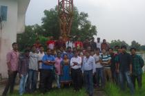 Industrial visit of Fifth Semester B.Tech. Electrical Engineering student to AIR Cuttack.