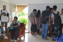 Industrial visit of SIF students to Mundali water treatment plant, Cuttack