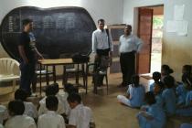 Visit to schools on 4th November 2016 under UBA