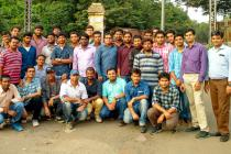Industrial Visit of Third Year Mechanical students to Nalco Angul on 5 Nov. 2016