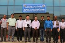 Visit of Professor Ikuo Towhata to the School of Infrastructure, IIT Bhubaneswar