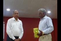 Prof. Paulraj from the Stanford University has given Institute seminar on 16/8/2016