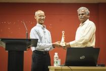Prof. Chittaranjan Ray, Director, Nebraska Water Center has given Institute Seminar on 08/11/2016