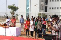 Group performance by music society, IITBBS