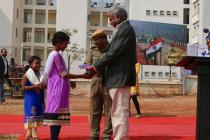 Prize distribution to school children