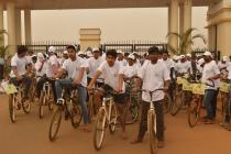 Cycle Rally for Oil and Gas Conservation Mass Awareness Campaign