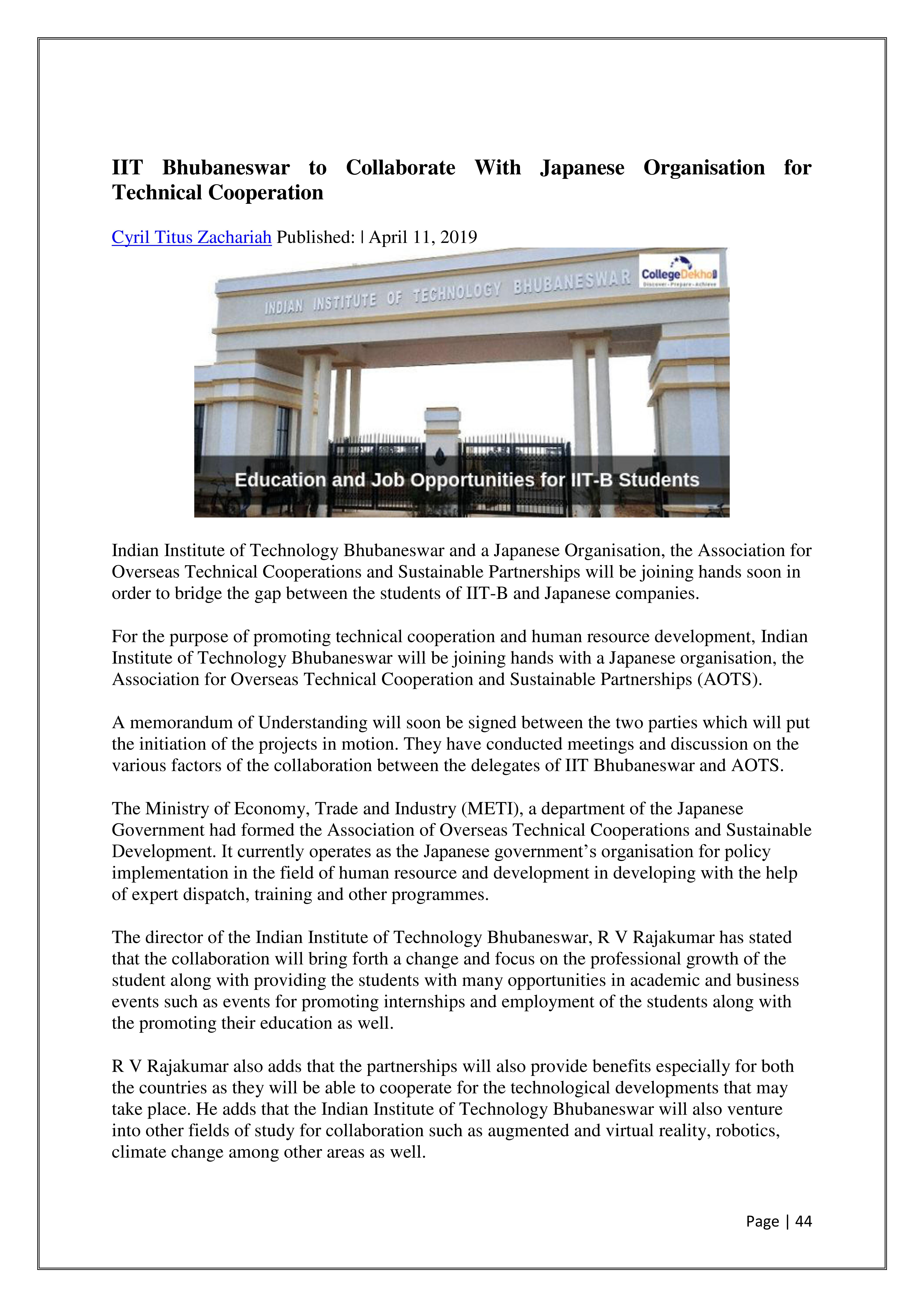 In Press & Media | Press Releases :: Indian Institute of Technology